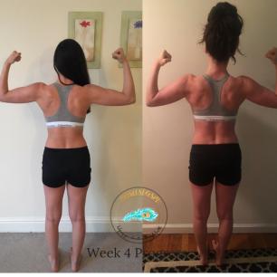 Week 4 Back progress