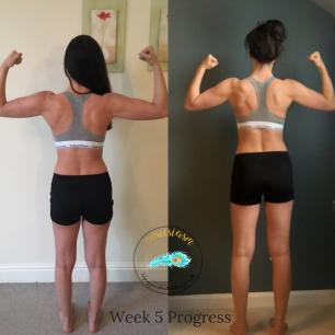 Week 5 back progress