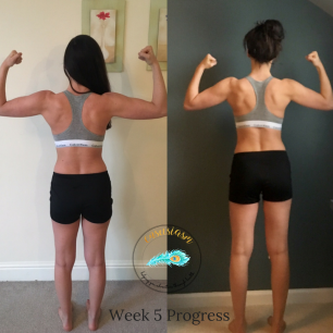 Week 5 back progress