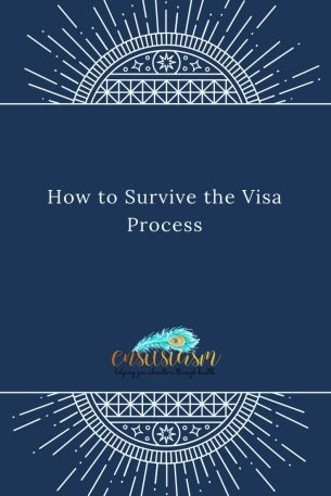 How to Survive the visa process